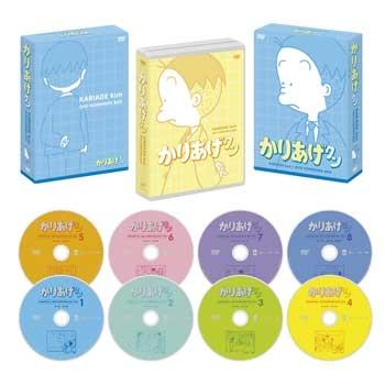 900【DVD】※送料無料※TV かりあげクン ほんにゃらBOX