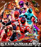 900【Blu-ray】TV スーパー戦隊シリーズ 宇宙戦隊キュウレンジャー Blu-ray COLLECTION 2