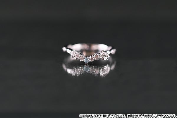 900【グッズ-指輪】ツキウタ。 リング バラモチーフ 白兎王国 D:9号