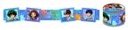 【グッズ-テープ】僕のヒーローアカデミア マスキングテープ A ブルー