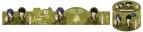 【グッズ-テープ】新テニスの王子様 マスキングテープ C 立海