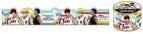 【グッズ-テープ】黒子のバスケ マスキングテープ A 黒子・火神・黄瀬・青峰
