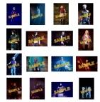【グッズ-ブロマイド】ライブ・スペクタクル 「NARUTO-ナルト-」~暁の調べ~ 舞台写真ブロマイド全部セット(特典:C 暁)