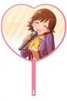 【グッズ-うちわ】アイドルマスター シンデレラガールズ ハート型うちわ 本田未央