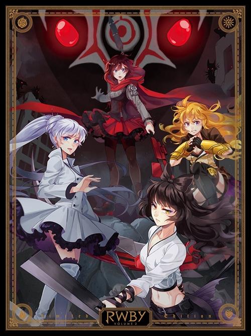 900【Blu-ray】アニメ RWBY Volume2 初回仕様版