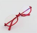 【グッズ-サングラス】ガールズ&パンツァー 劇場版 武部沙織 使用眼鏡フレームTYPE-SAORI