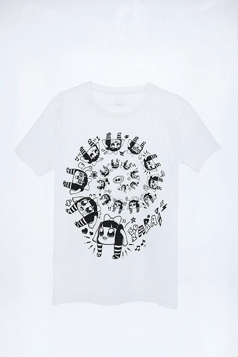 【コスプレ-コスプレアクセサリー】上坂すみれのヤバい○○ B:目が回るけどまあまあ普段着られるTシャツ