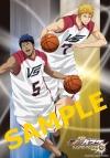 【チケット】劇場版 「黒子のバスケ LAST GAME」 描き下ろしA3クリアポスター付前売券 【B】青峰・黄瀬