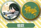 【グッズ-バッチ】僕のヒーローアカデミア 缶バッジセット/F:蛙吹