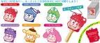 【グッズ-カバーホルダー】おそ松さん×Sanrio Characters トレーディングキーメット