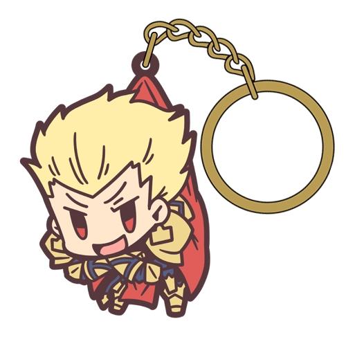【グッズ-キーホルダー】Fate/Grand Order アーチャー/ギルガメッシュつままれキーホルダー【再販】