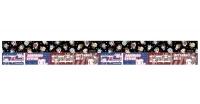 900【グッズ-テープ】逆転裁判 マスキングテープ ドットキャラクター