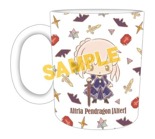 【グッズ-マグカップ】特価 Fate/Grand Order 【Design produced by Sanrio】マグカップvol.2 アルトリア・ペンドラゴン【オルタ】