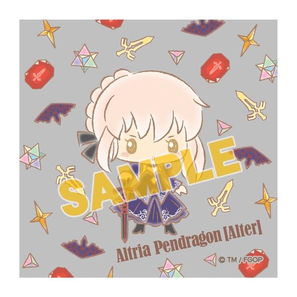 【グッズ-タオル】特価 Fate/Grand Order 【Design produced by Sanrio】ミニハンドタオルvol.2 アルトリア・ペンドラゴン【オルタ】