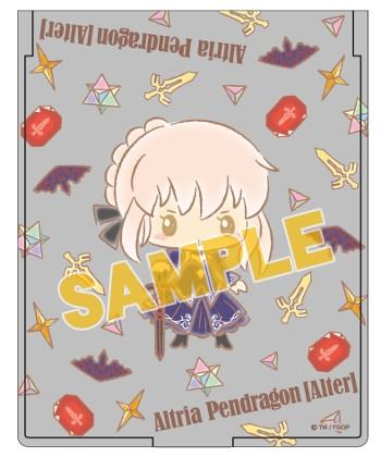 【グッズ-ミラー】特価 Fate/Grand Order 【Design produced by Sanrio】折り畳みミラーvol.2 アルトリア・ペンドラゴン【オルタ】