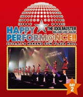 900【Blu-ray】THE IDOLM@STER MILLION LIVE! 1stLIVE HAPPY☆PERFORM@NCE! Blu-ray Day2
