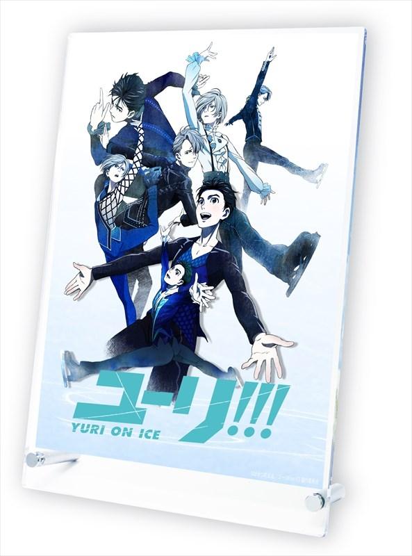 ユーリ!!! on ICE スタンドポスター ティザーイラスト