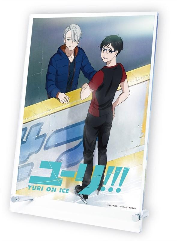 ユーリ!!! on ICE スタンドポスター 勇利とヴィクトル