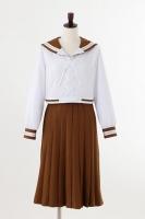 900【コスプレ-衣装】美少女戦士セーラームーン Crystal オフィシャルコスチューム 木野まこと前の学校の制服/SIZE-S