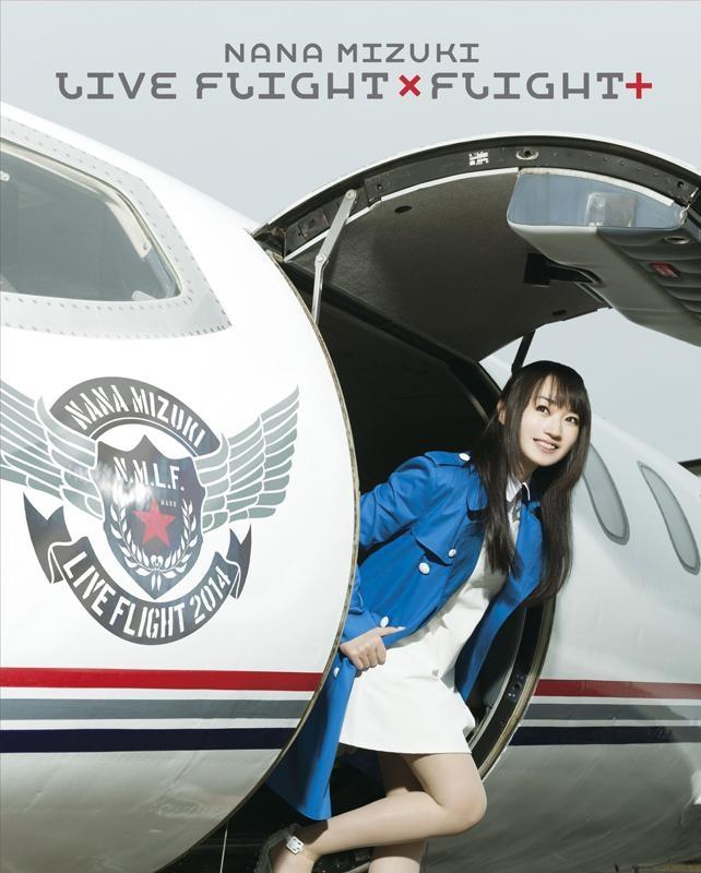 900【Blu-ray】水樹奈々/NANA MIZUKI LIVE FLIGHTxFLIGHT+