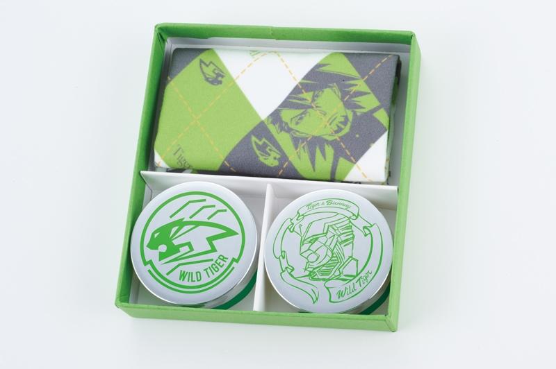 TIGER&BUNNY Lip Balm & Solid Perfume 虎徹set