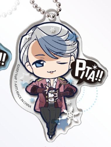 ユーリ!!! on ICE ぴた!でふぉめ アクリルキーホルダー