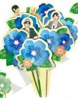 【グッズ-化粧雑貨】新テニスの王子様 ペーパー加湿器 B 手塚&跡部&真田