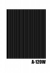 【クリックで詳細表示】【画材-トーン】アニメイトオリジナルトーン A-120W