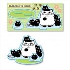 【グッズ-スタンドポップ】おじさまと猫 アクリルフィギュア 黒猫