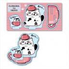 【グッズ-スタンドポップ】おじさまと猫 アクリルフィギュア マグカップ