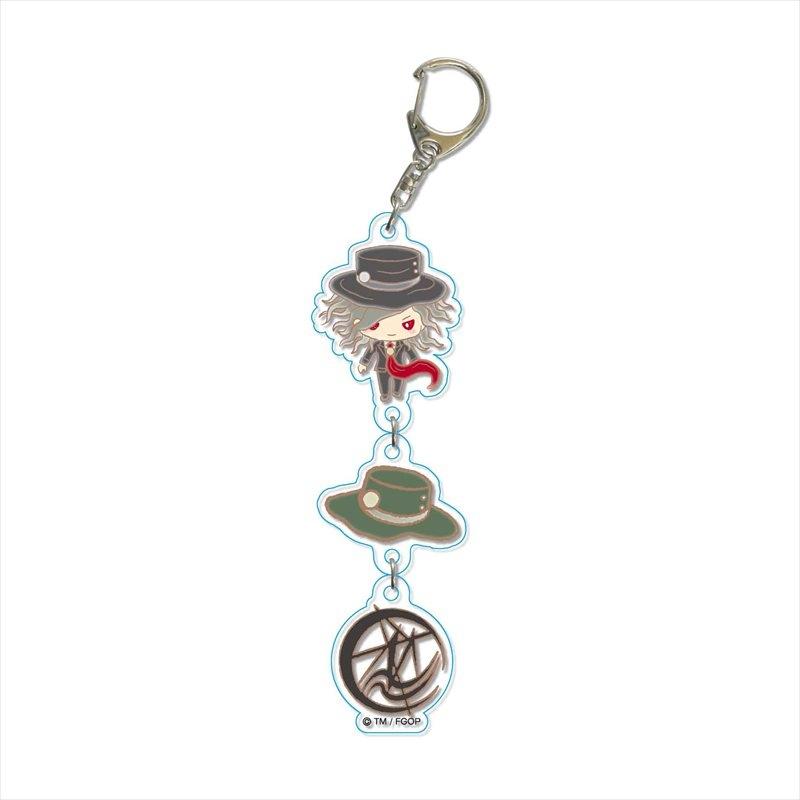 【グッズ-キーホルダー】Fate/Grand Order Design produced by Sanrio 3連キーホルダー エドモン・ダンテス