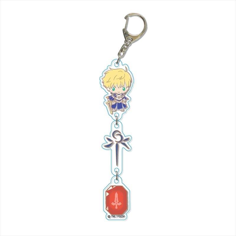 【グッズ-キーホルダー】Fate/Grand Order Design produced by Sanrio 3連キーホルダー アーサー・ペンドラゴン
