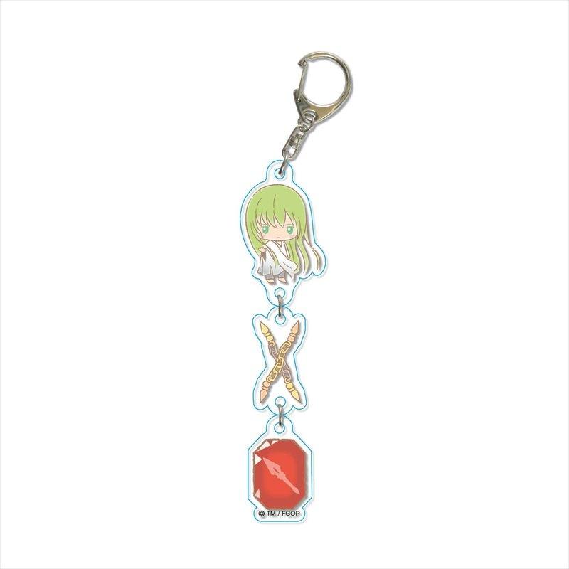 【グッズ-キーホルダー】Fate/Grand Order Design produced by Sanrio 3連キーホルダー エルキドゥ