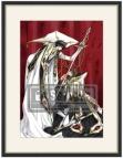 【グッズ-複製原画集】コードギアス 反逆のルルーシュ CLAMPイラスト 複製原画(ルルーシュ&スザク)