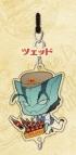 【グッズ-ストラップ】血界戦線&BEYOND ちぇいんコレクション ツェッド アメリカンダイナーver.