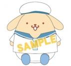 【グッズ-ぬいぐるみ】特価 ユーリ!!! on ICE ×サンリオ サマーむにゅぐるみS プリン