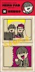 【グッズ-メモ帳】あんさんぶるスターズ! メモパッド/あんさんぶくぶスターズ!H