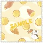 【グッズ-タオル】夏目友人帳 ニャンコ先生ハンドタオル/焼き芋
