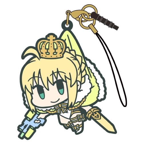 【グッズ-ストラップ】Fate/Grand Order アーチャー:アルトリア・ペンドラゴン つままれストラップ