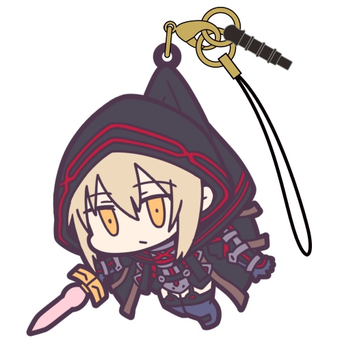 【グッズ-ストラップ】Fate/Grand Order バーサーカー:謎のヒロインX[オルタ] つままれストラップ