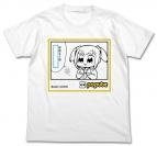 【グッズ-Tシャツ】ポプテピピック ポプ子の持病Tシャツ WHITE-S