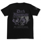 【グッズ-Tシャツ】アイドルマスター シンデレラガールズ ダークイルミネイト Tシャツ 蘭子&飛鳥Ver. BLACK-XL