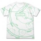 【グッズ-Tシャツ】ソードアート・オンライン オルタナティブ ガンゲイル・オンライン バレットサークル オールプリント Tシャツ WHITE-L