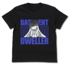 【グッズ-Tシャツ】ノーゲーム・ノーライフ ひきこもりの『 』(くうはく)Tシャツ/BLACK-S