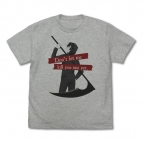 【グッズ-Tシャツ】殺戮の天使 ザック Tシャツ/MIX GRAY-L