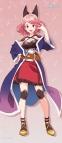 【グッズ-タペストリー】七星のスバル すりすりBIGタペストリー 咲月