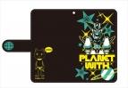 【グッズ-カバーホルダー】プラネット・ウィズ 手帳型スマートフォンケース