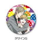 【グッズ-バッチ】ヤリチン☆ビッチ部 3WAY缶バッジ G