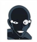 【グッズ-その他】名探偵コナン めがねスタンド 犯人