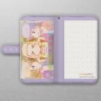 【グッズ-カバーホルダー】NEW GAME!! 手帳型スマホケース(青葉&ねね&ほたる)汎用Lサイズ